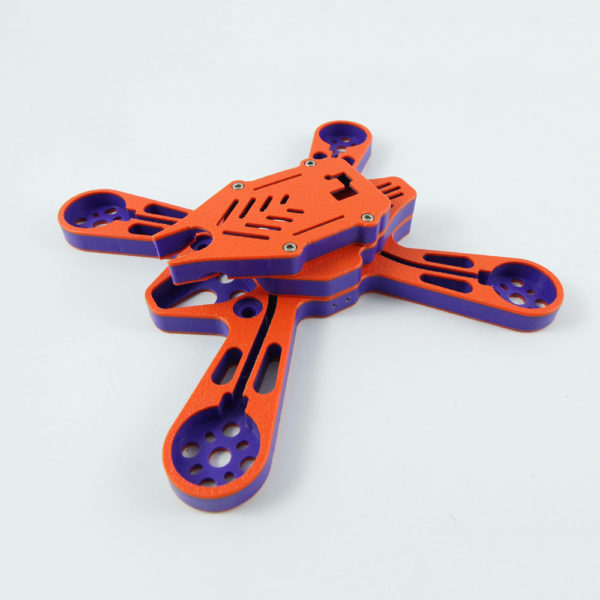 Fossils Stuff FSGX 210 Orange FPV Racing Frame